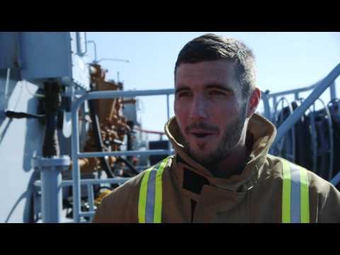Royal Navy TwoSix.tv Oct 2014: Naval Airman Scott