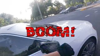 STUPID DRIVERS GOT SMASHED MIRRORS   EXTREMELY CRAZY, ANGRY PEOPLE vs BIKERS  [Ep. #98]