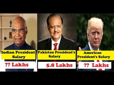 SALARY OF NARENDRA MODI AND SOME OF THE MOST POWERFUL LEADERS OF THE WORLD