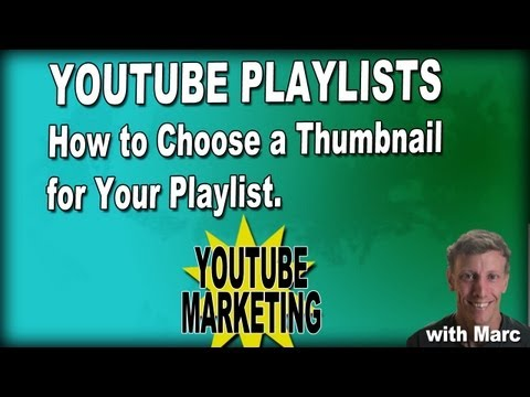 How to Choose a Thumbnail for Your Playlist - YouTube Playlist Marketing