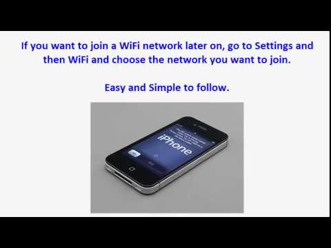 iPhone 4S Tips and Tricks - Asking To Join WiFi Networks