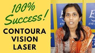 Laser eye surgery   Contoura Vision   100% SUCCESS!