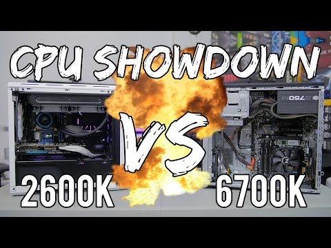 2600K vs  6700K Gaming Performance! My 5-Year-Old PC (Pt. 2)