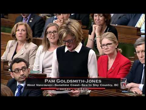 Harry Greenwood Praised in House of Commons by Pam Goldsmith Jones
