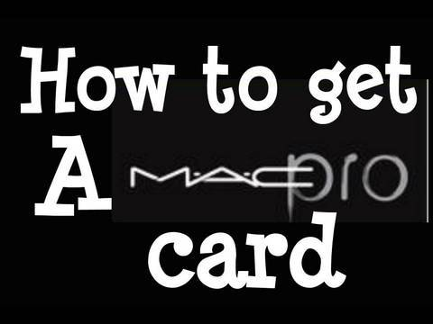 Pro Makeup: How To Get a MAC PRO Card : Step by Step Instructions