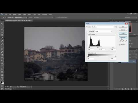 Photoshop Tutorial for Beginners - 03 - Using the Levels Tool