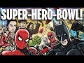 SUPER HERO BOWL TOON SANDWICH
