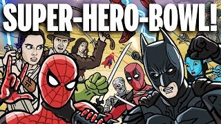 SUPER-HERO-BOWL! - TOON SANDWICH