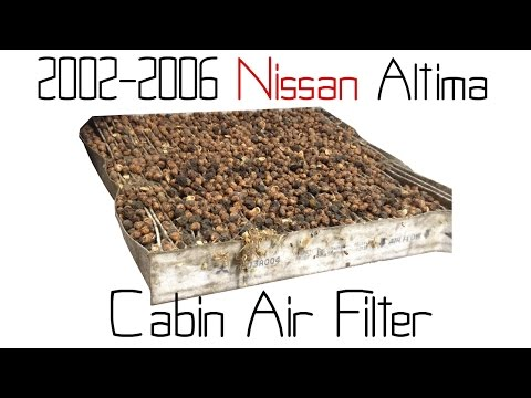 02-06 Nissan Altima cabin air filter