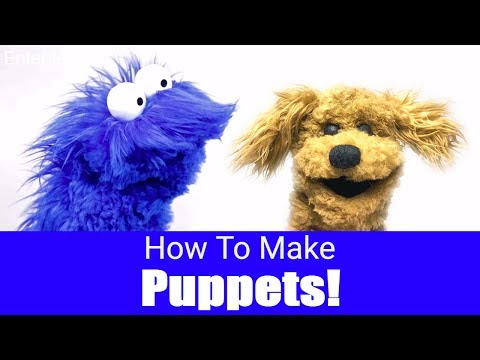 How To Make A Puppet! - Puppet Building 101