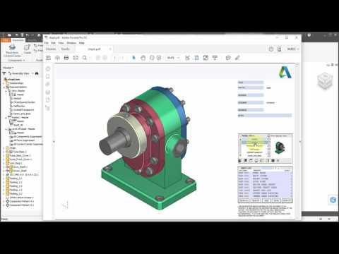Inventor 2017 3D PDF
