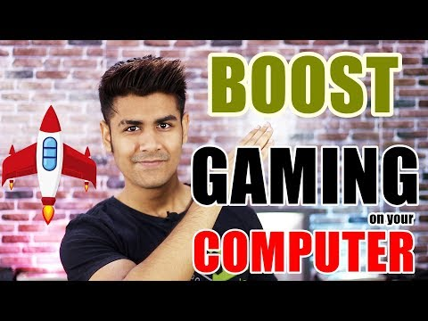 Make Your Computer Gaming Machine | Improve Gaming Performance of any Pc