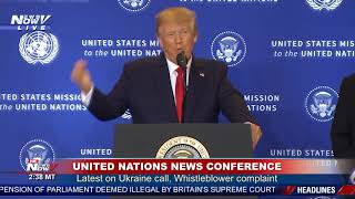 UKRAINE CONTROVERSY: President Trump Says Democrats Have Lost It