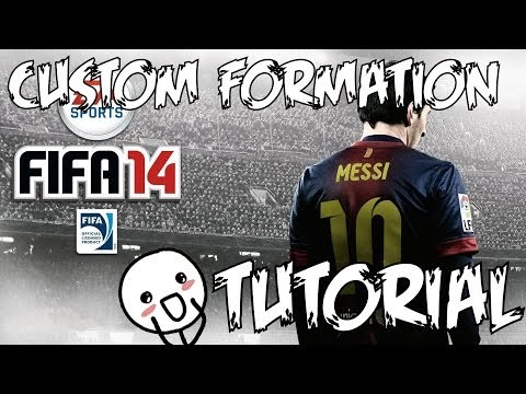 FIFA 14: How to Create Your Own Custom Formation [Tutorial] (PS3/PS4/XBOX 360/XBOX ONE)