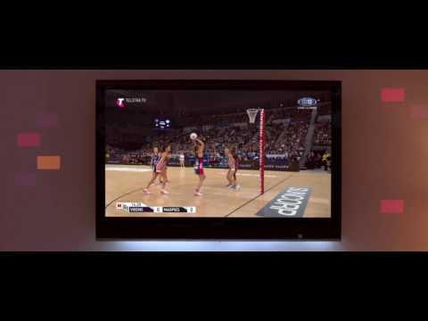 Netball on Telstra TV