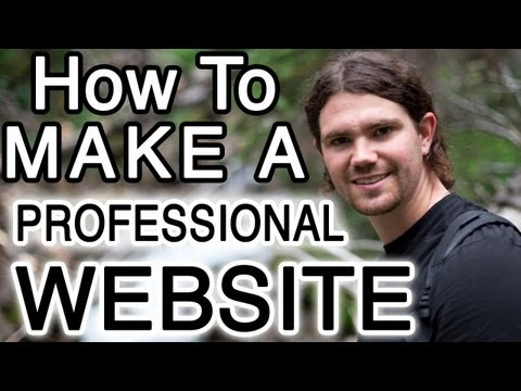 How to Make a WordPress Website and Blog - PROFESSIONAL!