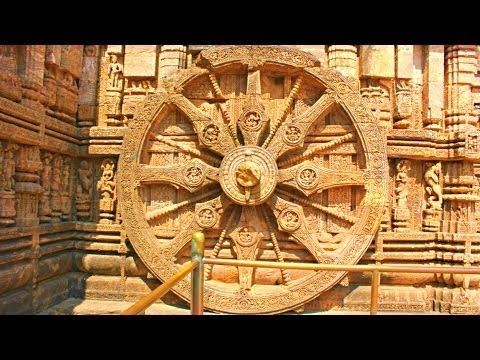 750 Year Old Sundial at Konark, India - Moondial too?
