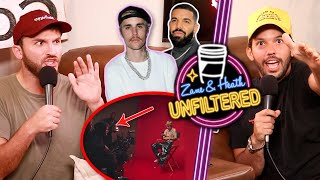 Zane's First Time Meeting Justin Bieber and Drake - UNFILTERED #47