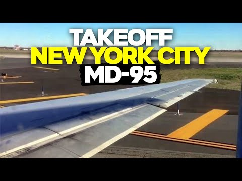 Takeoff From John F. Kennedy International Airport (JFK)- Delta Airlines (HD) (60FPS)