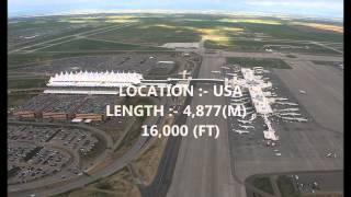 TOP 10 LONGEST AIRPORT RUNWAYS