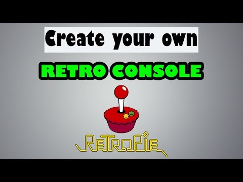 Build your own Retro Console using a Raspberry Pi