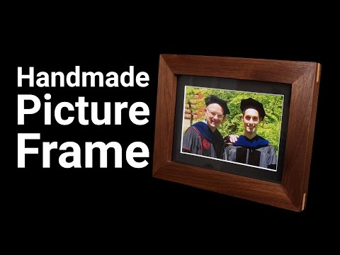 How To Make a Handmade Picture Frame