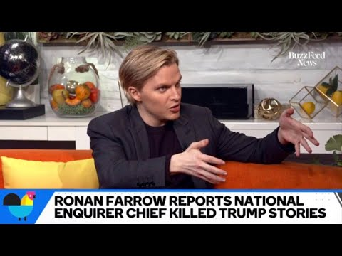 Ronan Farrow On Whether NBC News Execs Should Be Fired