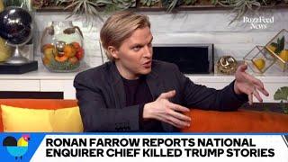 Ronan Farrow On Whether NBC News Execs Should Be Fired