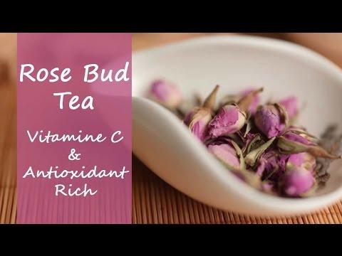 Rose Bud Tea - Pink Dried Rosebud Flower Tea For Healthy Skin & Hair