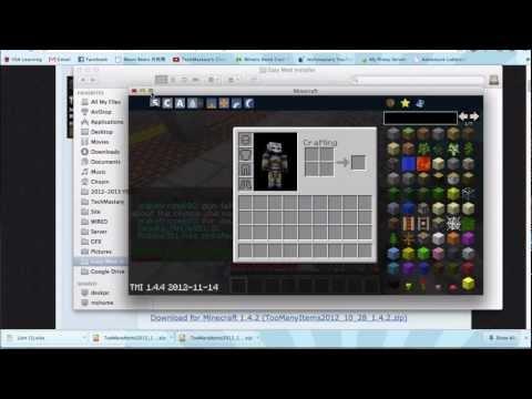 Easy Minecraft Mod Installer for Mac (Nov 2012) Minecraft 1.5.2