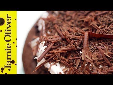 How To Make Chocolate Shavings | Jamie's Comfort Food | Kerryann Dunlop
