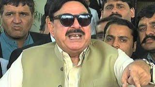 APML chief Sheikh Rasheed media talk in Islamabad