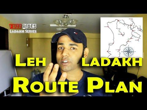 Leh Ladakh | Route Plan | Most Adventurous Roads | Bike Trip Guide