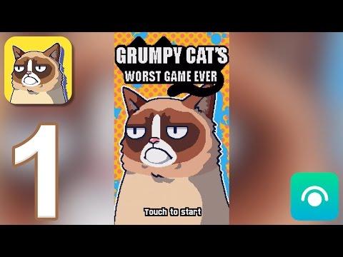 Grumpy Cat's Worst Game Ever - Gameplay Walkthrough Part 1 - Garden (iOS, Android)
