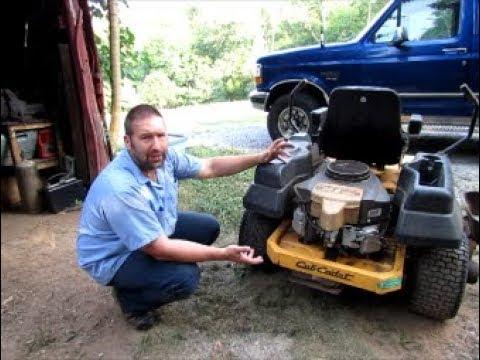 Cub Cadet Hydro-Gear transaxle ZT-2200 EZT Oil Change