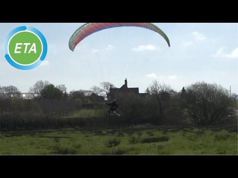 XploreAir X1 Paravelo flying bicycle