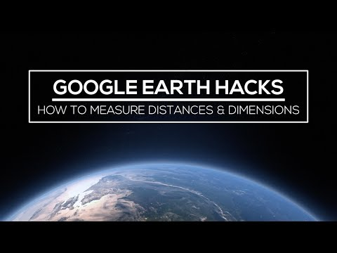 Google Earth Hacks: How to Measure Distances & Dimensions