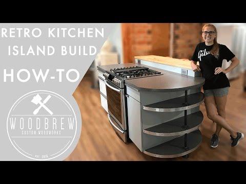 Making A Modern Kitchen Island