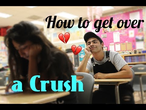 Tips on how to get over a crush
