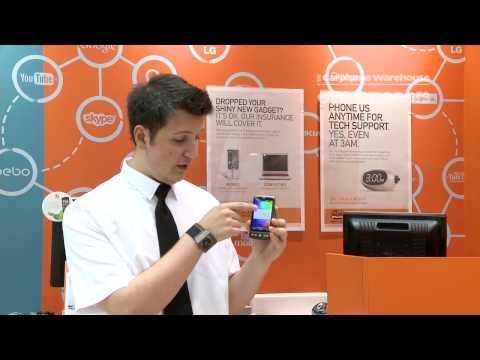 HTC Desire - Android Home screen setup - The Carphone Warehouse - eye openers