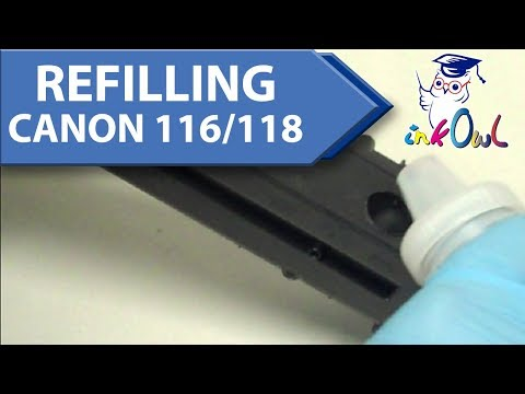 How to Refill Canon Type 116, 118, 316, 318, 416, 418, 716, and 718 Toner Cartridges