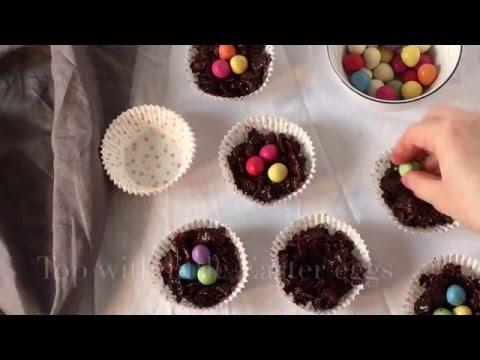 Chocolate Cornflake Cakes