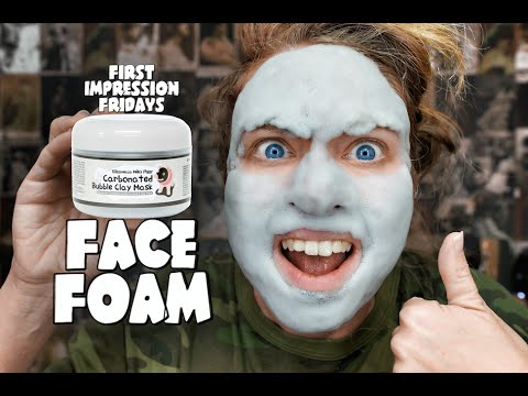 CARBONATED CLAY MASK! - FIRST IMPRESSION FRIDAY!