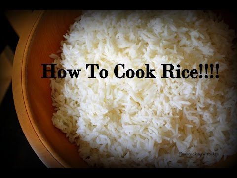 How To Cook Boiled Rice Without Cooker