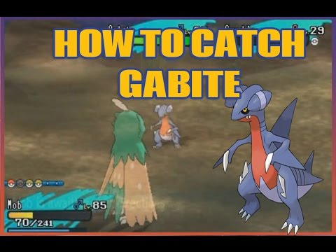 How To Catch GABITE In Pokemon Sun and Moon! (How to get Gible, Gabite, Garchomp)