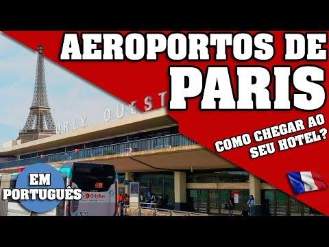 PARIS. COMO CHEGAR AO SEU HOTEL DO CHARLES DE GAULLE, ORLY ETC ? SERIE PARIS, PARTE 2 EM PORTUGUÊS