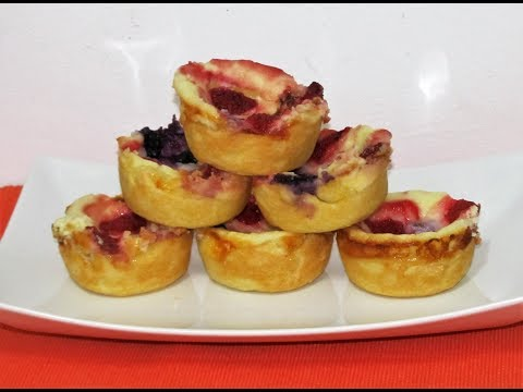 chessecake cupcakes, Cheese cupcake, Berry cheesecake - easy Party dessert