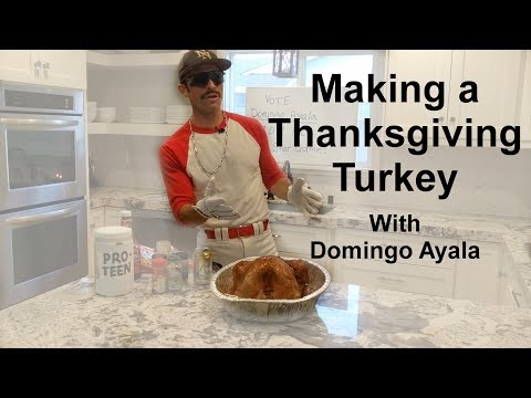 Making a Thanksgiving Turkey with Domingo Ayala
