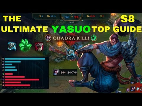 Yasuo Build Top Lane | How To Build Yasuo | League of Legend