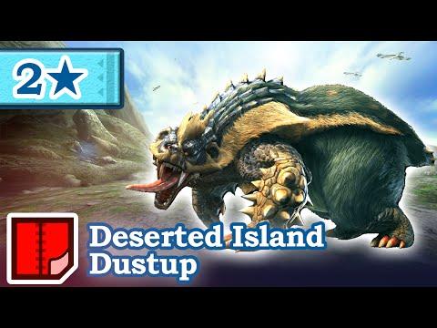 Let's Play Monster Hunter Generations - #47 - 2★ Deserted Island Dustup